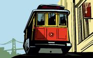 Artwork tranvía