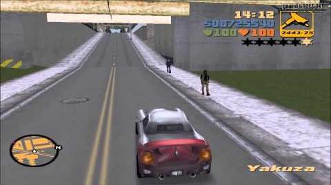 """Grand Theft Auto III - Misión 60 """"Reunión de coches de gangsters"""""""