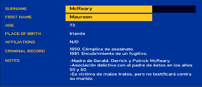 Maureen mcreary