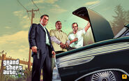 Official Gta V Artwork The Trunk