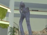 Estatua masturbándose