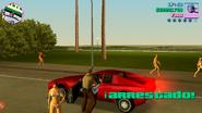 GTA VC Arrestado versión móvil