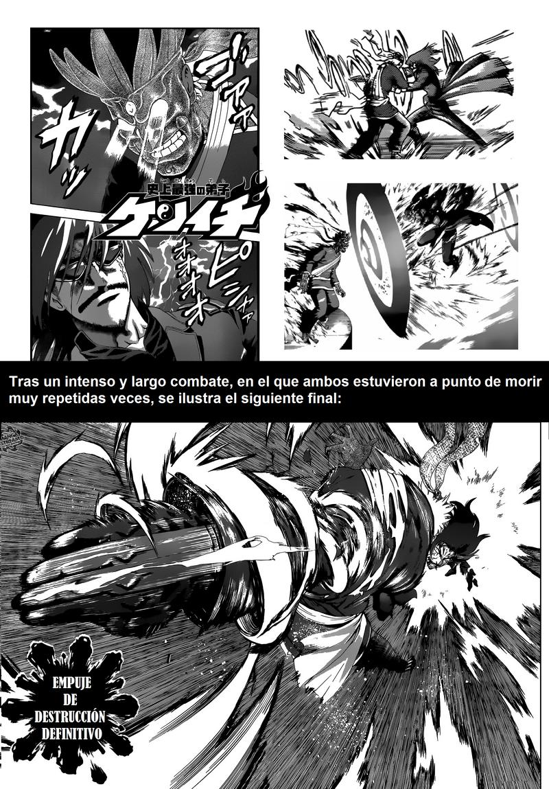 Captura del combate