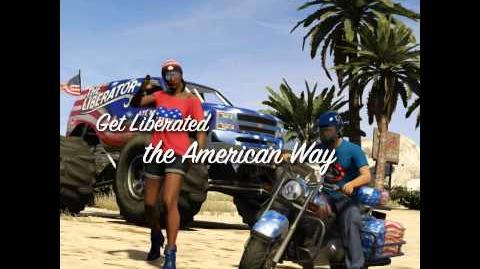 Grand Theft Auto Online The Independence Day Special -- The Liberator