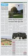 Sección de deportes del periódico