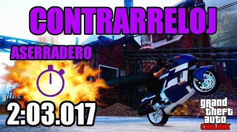 CONTRARRELOJ - ASERRADERO (GTA ONLINE) PS4