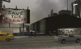 El puerto cerrado en LCS