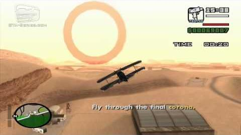 GTA San Andreas - Pilot School 8 - Loop-the-loop (HD)