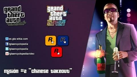 "Grand Theft Auto The Ballad of Gay Tony - ""Chinese Takeout"""