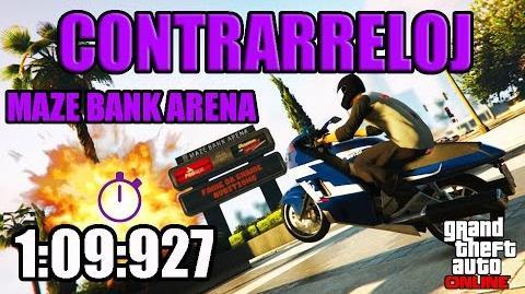 CONTRARRELOJ - MAZE BANK ARENA (GTA ONLINE) PS4