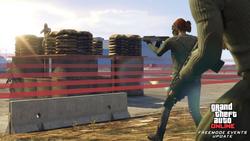 "GTA Online - Modo Adversario ""Cruza la línea""1"