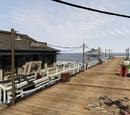 Muelle de búsquedas con sónar