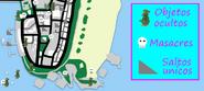 Gta vc ocean beach mapa de los coleccionables de gta vc