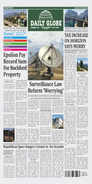 La portada del Daily Globe