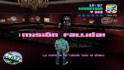 Misión fallida mantén