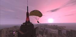 Paracaidismo al amanecer-GTA IV