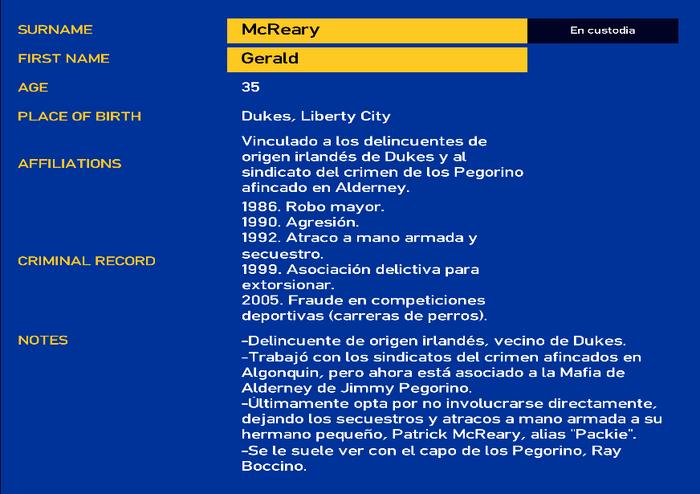 Gerald mcreary
