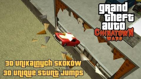 GTA Chinatown Wars - 30 saltos únicos PSP