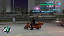 Repartidor de pizzas Vice City