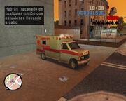 Ambulance en Sweeney Hospital