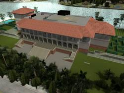 GTAVC The Lab Starfish Mansion Render 3