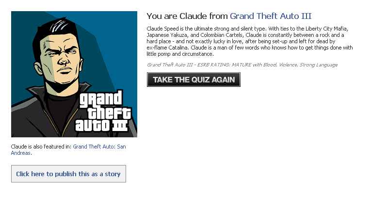 GTA Quiz Claude Speed