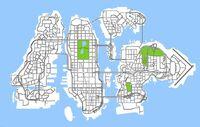 Liberty City Mapa