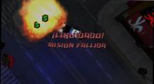 Mision fallida GTA CW