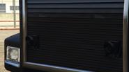 Vista cercana misiles montados Pounder personalizado