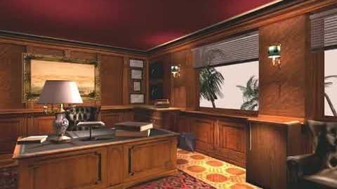 GTA Vice City - The Lab - Ken Rosenberg's Office - 360 Interior Render