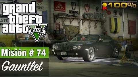"""Grand Theft Auto V - """"Gauntlet (Misión)"""""""