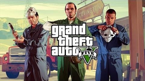 Anuncio de TV de GTA V en Xbox 360