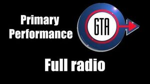 GTA London (1961 & 1969) - Primary Performance Full radio