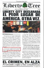 GTA LCS Periódico 1