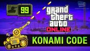 GTA Online Easter Egg - The Konami Code (Invade and Persuade II Cheat)