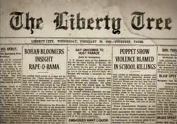 A History of Liberty-Antiguo número del Liberty Tree