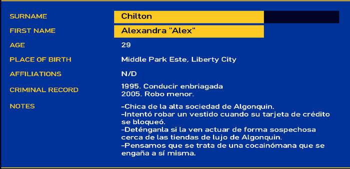 Alexandra Chilton LCPD
