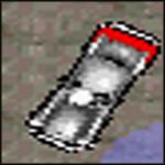 Un auto con una bomba de vehiculo