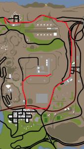 Desert conspiracy map chase