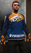 Jersey motocross de competición de conducción Jackal Racing