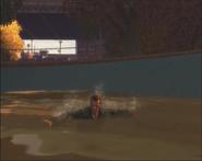 Nico en el agua