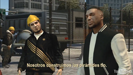 Yusuf Amir y Luis Fernando López en Sexy Time