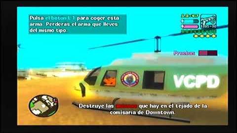 GTA VCS PS2 MISIÓN 37 LOCA PANDEMIA DE LA POLICIA