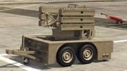 Remolque anti aéreo-GTAO-descarga de misiles guiados