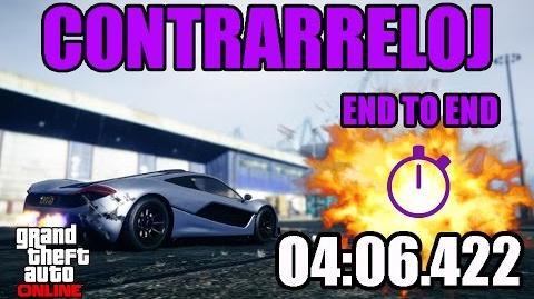 CONTRARRELOJ - DE UN EXTREMO A OTRO (GTA ONLINE) PS4