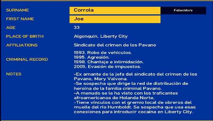 Joe corrola LCPD