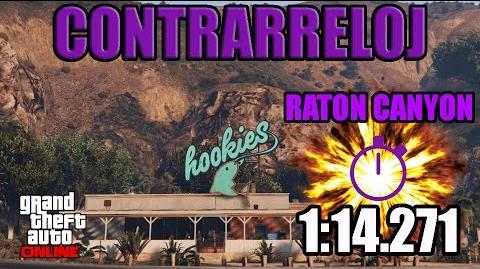 CONTRARRELOJ - RATON CANYON (GTA ONLINE) PS4