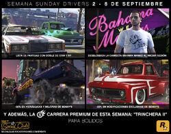 GTA Online - Semana Sunday Drivers - Imagen Promocional