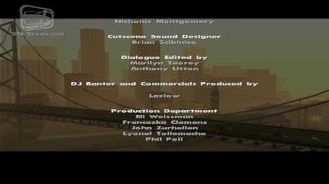 GTA San Andreas Closing Credits