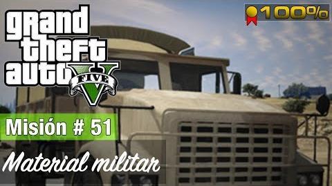 """Grand Theft Auto V - """"Material miitar"""""""